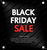 Black Friday Sale background with space for your text.. Metal background Stock Photos
