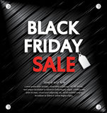 Black Friday Sale background with space for your text Royalty Free Stock Photo