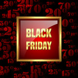 Black friday sale Royalty Free Stock Photography
