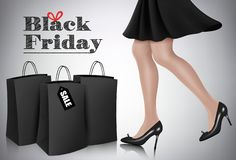 Black Friday sale background. royalty free stock photo