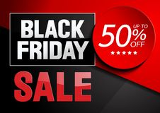 Black Friday Sale. Background, vector illustration royalty free illustration