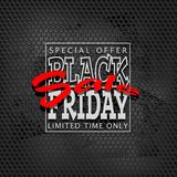 Grunge black grid sale02a Royalty Free Stock Image