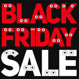 Black Friday Sale Background Vector Illustration Stock Photography