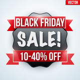 Black Friday Sale badge Stock Image