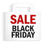 Black Friday Sale Bag Stock Photography