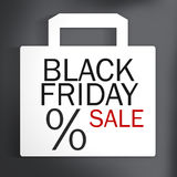 Black Friday Sale Bag Royalty Free Stock Photos