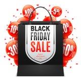 Black Friday Sale Bag Stock Photos