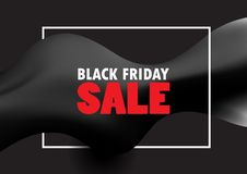 Black Friday Sale bakgrund vektor illustrationer