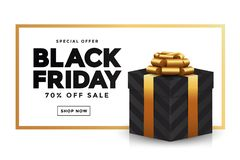 Free Black Friday Sale Banner 2 Royalty Free Stock Photo - 130175585