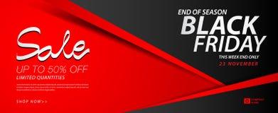 Black friday sale banner, Ads, header banner, gift voucher, Discount card, promotion poster, advertisement, marketing, tags. Sticker, brochure, flyer vector Stock Image