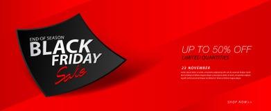 Black friday sale banner, Ads, header banner, gift voucher, Discount card, promotion poster, advertisement, marketing, tags. Sticker, vector illustration for Stock Images