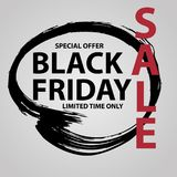 Black Friday Sale banner Royalty Free Stock Image