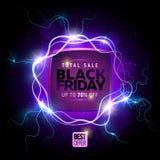 Black friday sale banner Stock Images