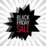 Black Friday sale banner. Stock Photos