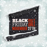 Black Friday sale banner. Stock Photos
