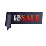 Black friday sale banner Stock Photography