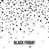 Black friday sale banner design Royalty Free Stock Photos