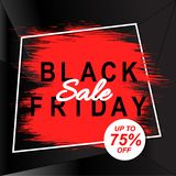 Black friday sale banner. Discount template.Abstract background. Black friday sale banner. Discount vector template.Abstract background Royalty Free Stock Photo