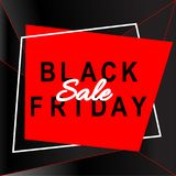 Black friday sale banner. Discount template.Abstract background. Black friday sale banner. Discount vector template.Abstract background Stock Photography
