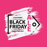 Black Friday Sale banner Stock Photo