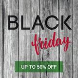 Black Friday Sale banner with hand-lettering and old wood textur. E background. Can be used for web-banner. EPS 10 Royalty Free Stock Image