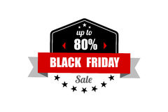 Black Friday Sale Banner. Promotional Discount Label. Stock Photography