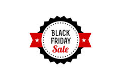 Black Friday Sale Banner. Promotional Discount Label. Royalty Free Stock Photos