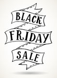 Black Friday sale banner template Royalty Free Stock Photo