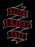 Black Friday sale banner template Royalty Free Stock Photos