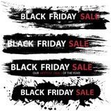 Black Friday Sale banners Royalty Free Stock Photos