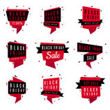Black Friday sale banners Royalty Free Stock Image