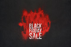 Black Friday Sale Billboard or Banner Concept Royalty Free Stock Images