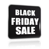 Black friday sale black banner Royalty Free Stock Image