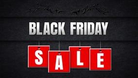 Black Friday Sale on Black Felt stock illustration