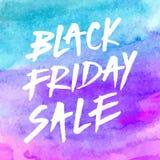 Black friday sale brushed banner Royalty Free Stock Images