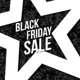 Black Friday sale business poster. Royalty Free Stock Image