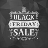 Black friday sale business vintage background Stock Photo