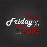 Black Friday Sale Calligraphic Designs Stock Images