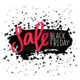 Black Friday. Sale. Calligraphy Stock Photo