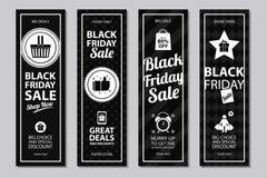 Black friday sale card sets Stock Image