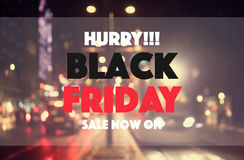 Black friday sale. Concept background Royalty Free Stock Photography