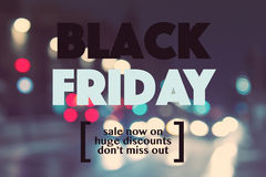 Black friday sale Stock Image