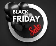 Black Friday Sale concept background Stock Photos