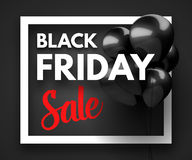 Black Friday Sale concept background Royalty Free Stock Photos