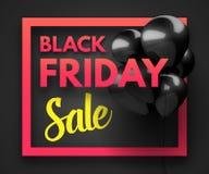 Black Friday Sale concept background. Stock Images