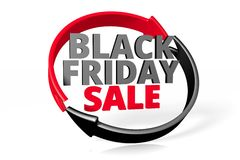 Black Friday sale concept... Stock Images