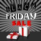 Black Friday sale concept... Royalty Free Stock Photography