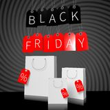 Black Friday sale concept... Royalty Free Stock Photo