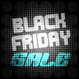 Black Friday Sale Stock Photography