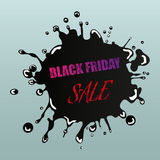 Black Friday Sale Design Element Stock Photography